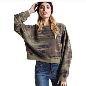 Z supply camo sweatshirt